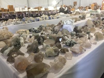 Beautiful bear chunk of quartz and more